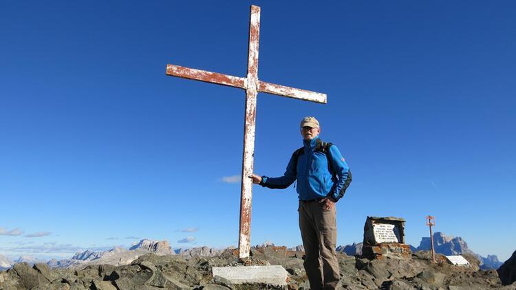 Werner Neubauer Gipfelkreuz