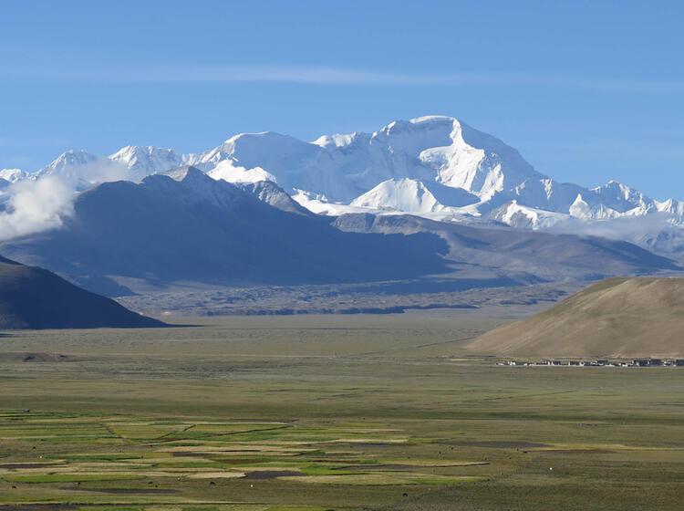 Wildes Tibet Auf Dem Trekking Zum Basislager