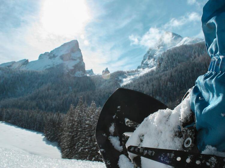 Winterwandern Mit Schneeschuhen In Berchtesgaden