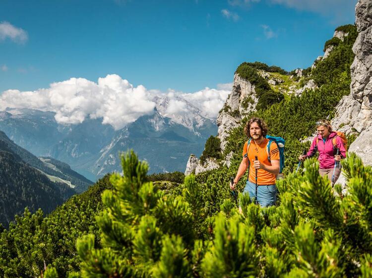 Zustieg Vom Kehlsteinhaus Zum Mannlgrat Kletter Steig 1
